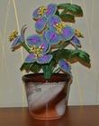 Продам цветок из бисера - Бугенвиллия (ручная работа)