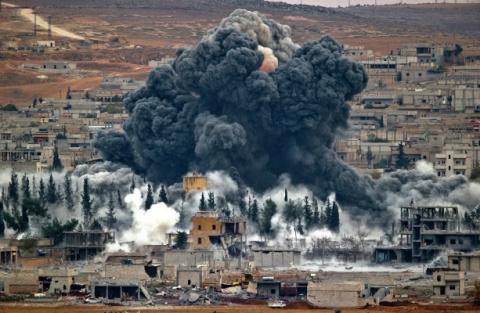 Курды считают, что авиаудары…