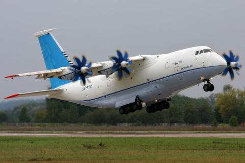 На Украине решили отказаться от российских деталей для самолета АН-70