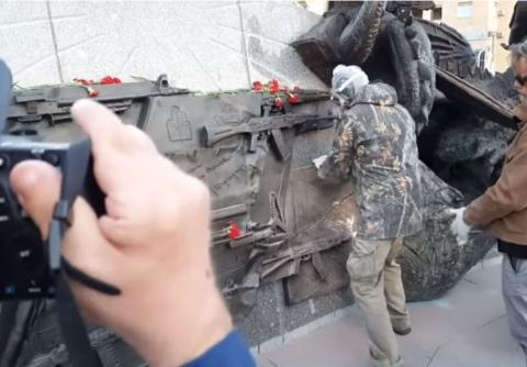 Схемы Шмайссера с памятника …