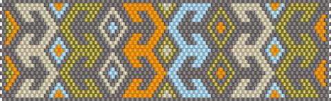 Узоры для бисерного ткачества и мозаичного низания