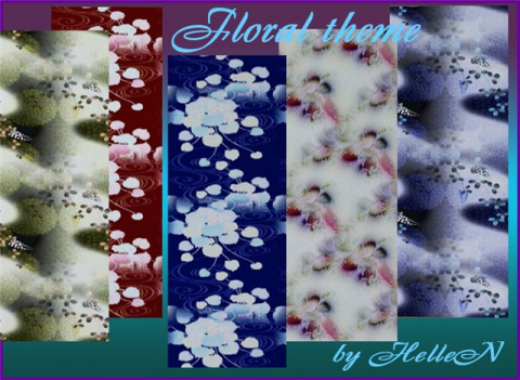 Floral patterns by Hellen
