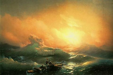 История одного шедевра: «Девятый вал» Айвазовского