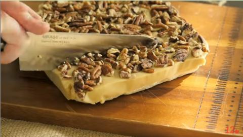 Пирог с ореховой помадкой — …