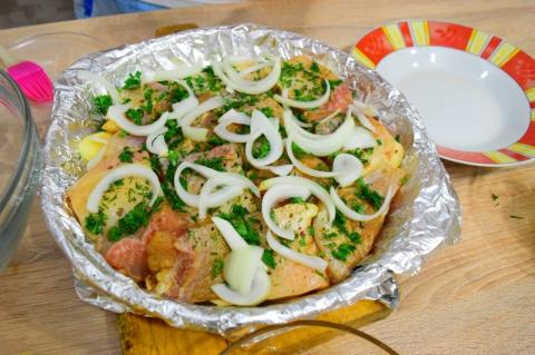 Волшебная золотая рыбка: простой рецепт сытного домашнего блюда