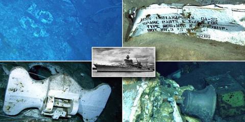 Судно соучредителя Microsoft обнаружило крейсер «Индианаполис», 72 года пролежавший на морском дне