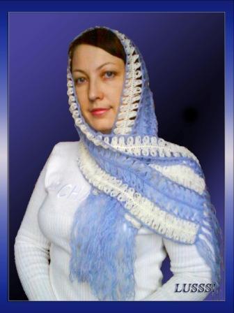 Вязание на вилке Людмилы