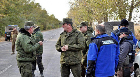 Россия выводит своих офицеров из Совместного Центра по Контролю и Координации в Донбассе