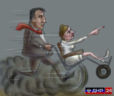 Они неслись, как сумасшедшие: кортеж Саакашвили поймали за нарушение ПДД (ВИДЕО)
