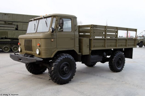 Американцы опробовали ГАЗ-66…