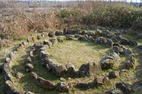 4-х тысячелетний кромлех в Абхазии
