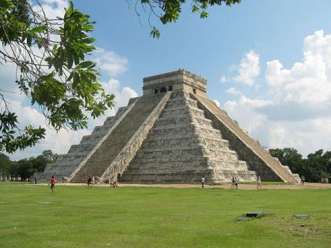 Древние цивилизации.  Майя
