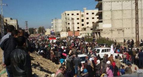 Сирия: впровинции Дамаск ид…