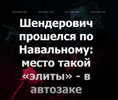 Шендерович прошелся по Навал…