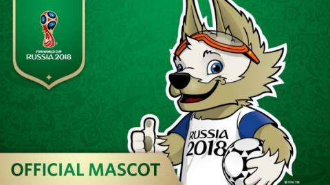 Талисманом чемпионата мира по футболу в России избран волк