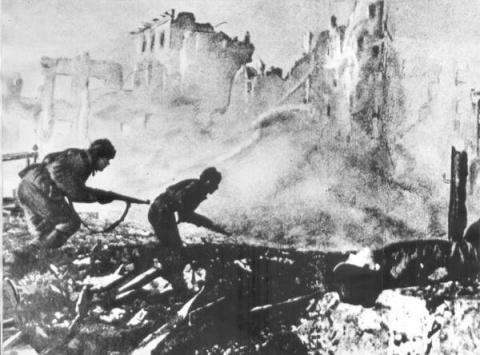 Сталинград. Погребение 6-й армии
