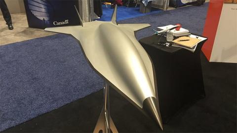 В США показали новейший гиперзвуковой боевой беспилотник