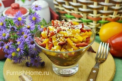 Салат из болгарского перца п…