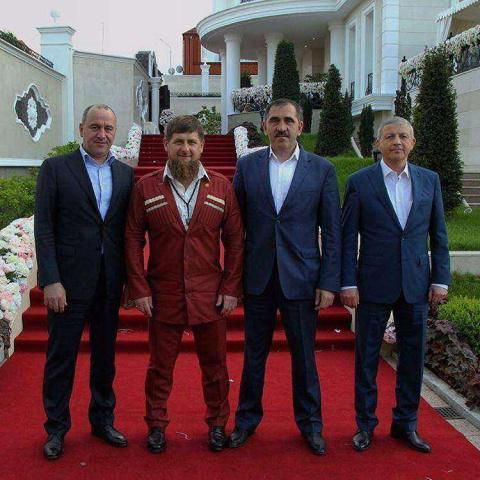 Свадьба племянника Кадырова …