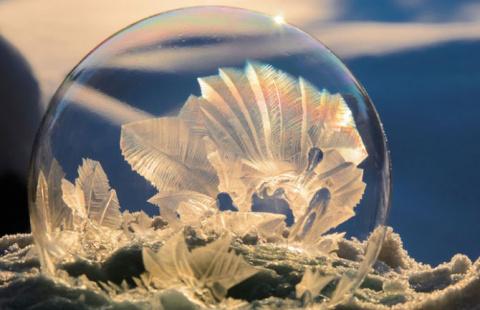 Мистические кристаллы в мыль…