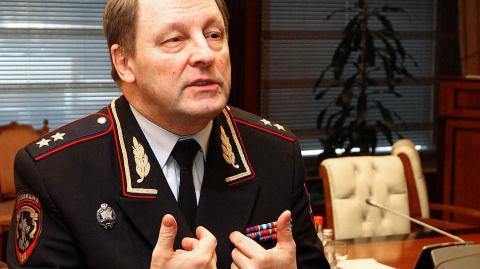 Генерал покинул пост ГИБДД Освобожден от должности Виктор Нилов