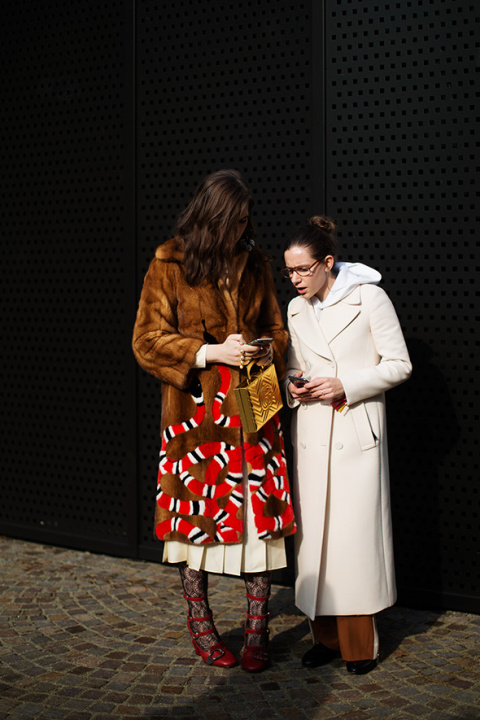 On the Scene…At Gucci, Milan
