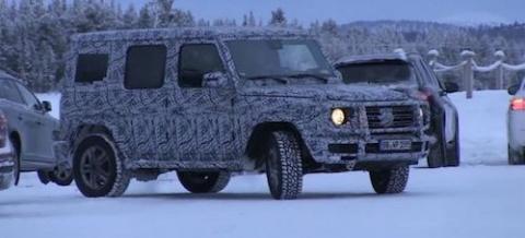 Новый Mercedes G-Class сохра…
