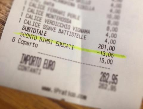 Ресторан дает пятипроцентную…