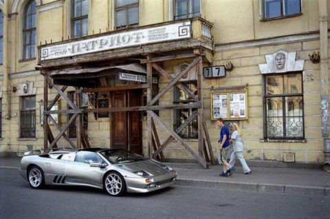 90-е годы в России ...