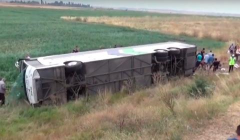 В Турции разбился пассажирск…