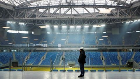 Новый стадион в Петербурге п…