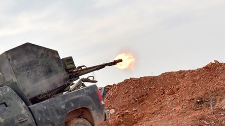 Сирийские войска атаковали в…