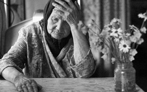 Письмо от пожилой женщины о …