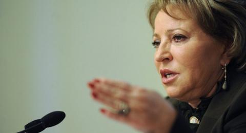 Матвиенко не нашла слов в ответ на провокации украинской делегации