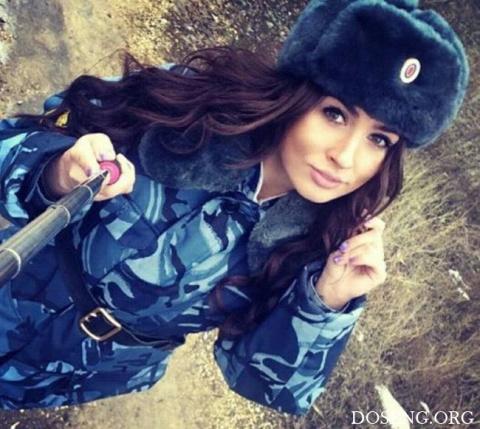 Девушки из силовых структур России