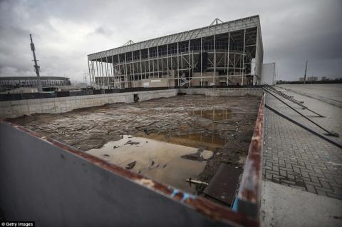 Олимпийская разруха: семь месяцев спустя