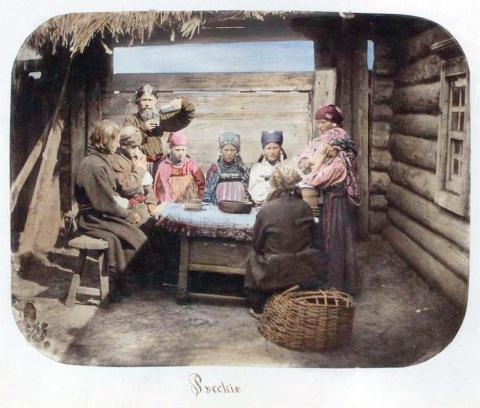 Питание в русской деревне ко…