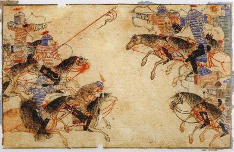 Оружие и доспехи воинов-монг…