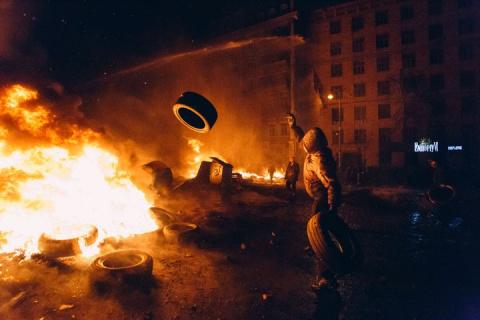 «Мандариновая революция»: пе…