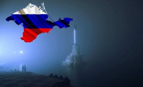 Украинка про Крым....