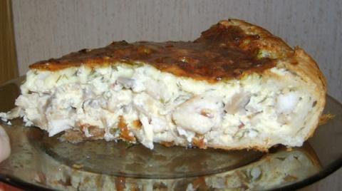 Вкуснейший пирог с грибами и…
