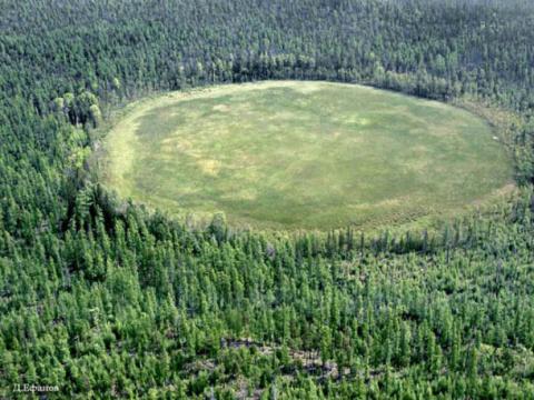 Найдены обломки НЛО спасшего землю