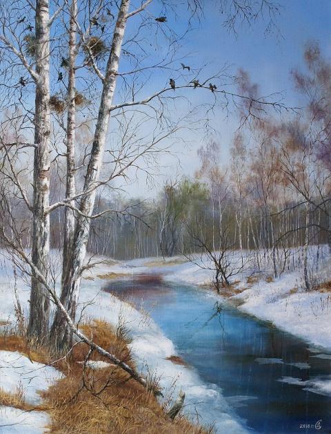Прекрасные зимние пейзажи Сергея Дорофеева