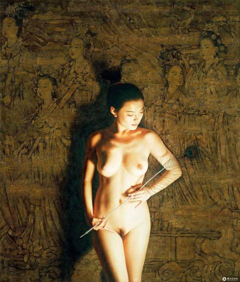 Китайская художница Liu Su и…