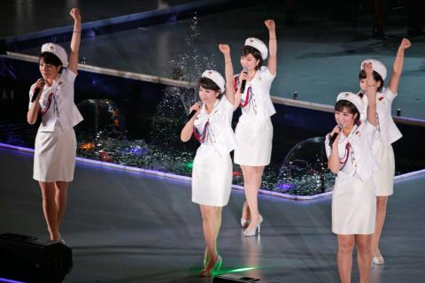 Гёрлз-бенд из Северной Кореи…