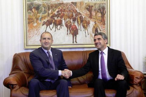 Уходящий президент Болгарии …