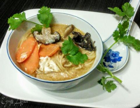 ДЕНЬ ПЕРВОГО БЛЮДА. Китайский остро-кислый суп