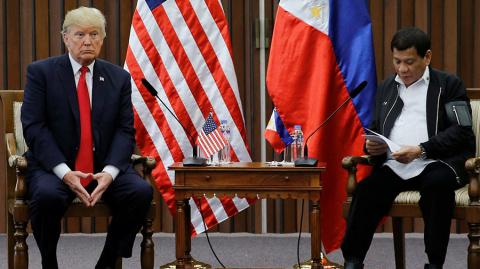 Трамп заявил об отличных отношениях между США и Филиппинами