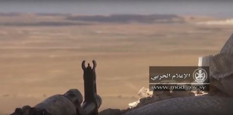 Боевые вертолеты ВКС РФ разнесли позиции ИГ во время наступления САА