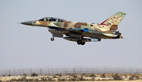Евреи бомбят Сирию